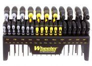 Screwdriver Set Wheeler Professional Gunsmith Hex/Torx Metric/Inch P-Handle Set 30 Piece