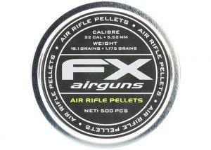 Airgun Pellets FX 5.52 mm 18.1 grain