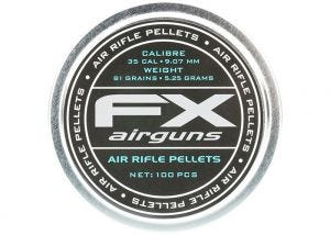 Airgun Pellets FX 9 mm 81 grain