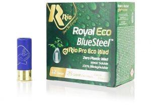 Hagelpatronen Rio Royal BlueSteel ECO kal. 12 32 gram