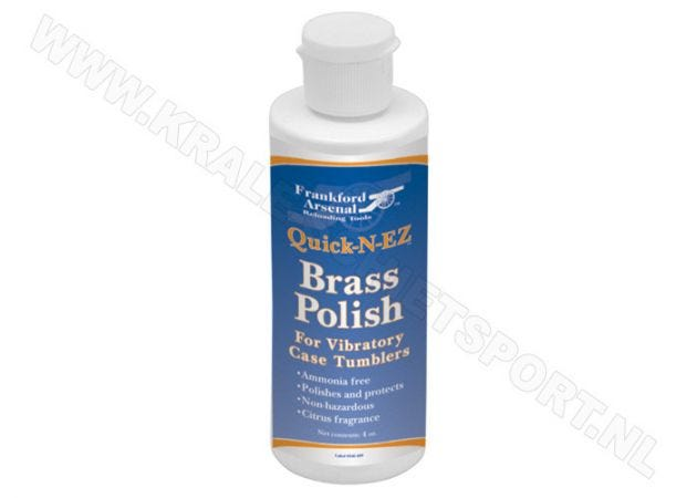 Cleaning solution Frankford Arsenal Quick-N-EZ Brass 118 ml