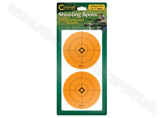 Target stickers Caldwell Shooting Spots