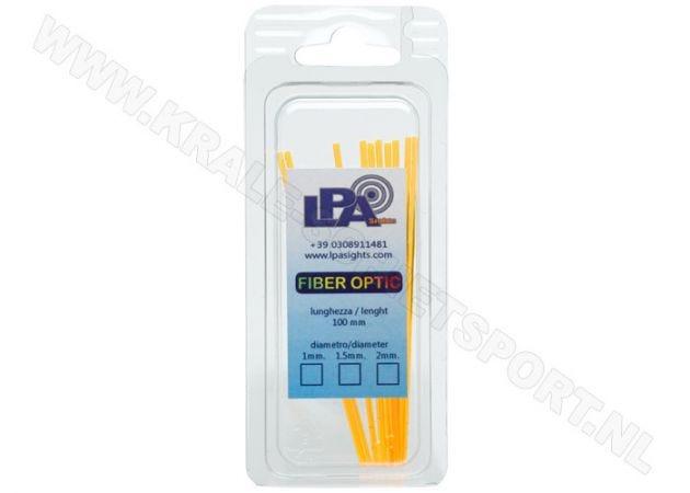 Fiber Optic Rods LPA BFO Yellow