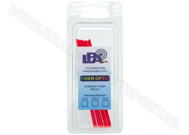 Fiber Optic Rods LPA BFO Red