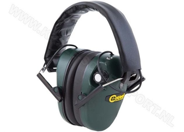 Hearing protector Caldwell E-Max Low-Profile Electronic Green