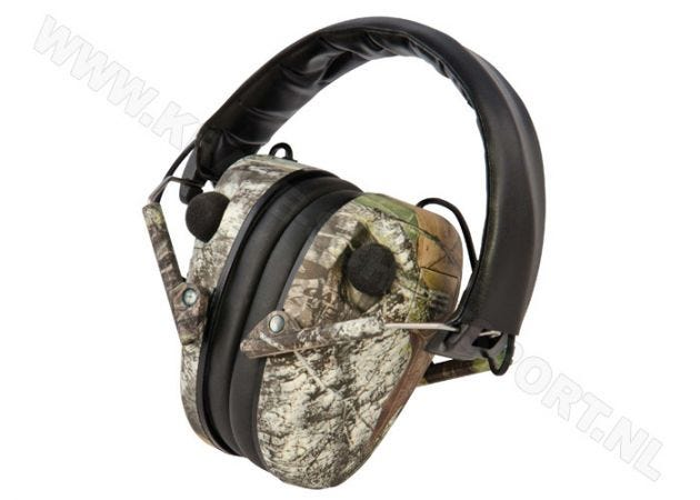 Hearing Protector Caldwell E-max Low Profile Electronic Mossy Oak