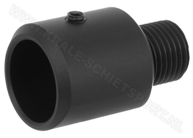 Silencer adaptor Steyr 16.0 mm