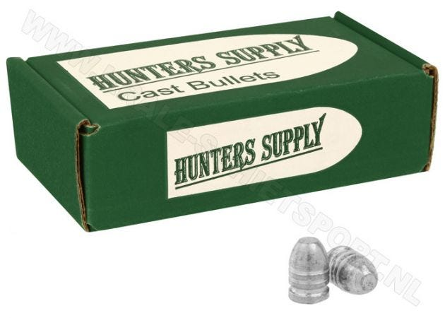 Airgun Pellets Hunters Supply 7.62 mm FP 79 grain