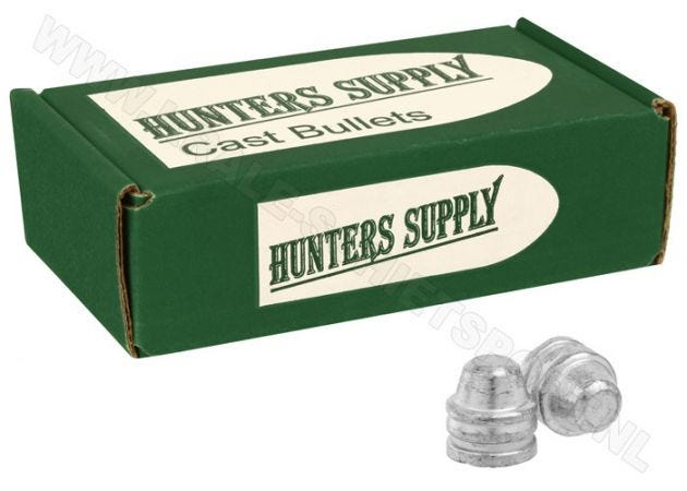 Airgun Pellets Hunters Supply .45 FP 166 grain