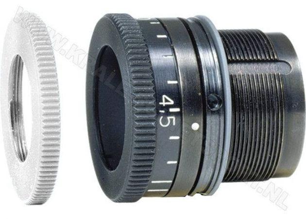 Adjustable aperture AHG