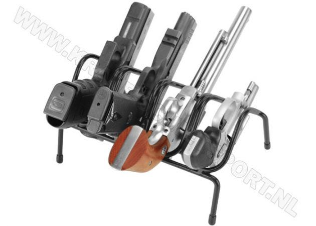 Handgun rack Lockdown 4-gun 222200