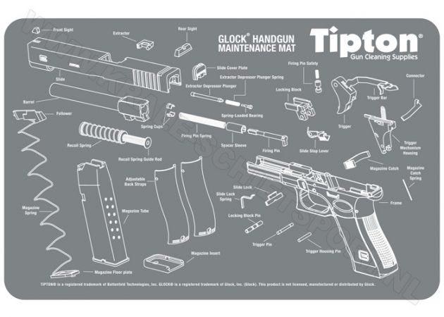 Maintenance Mat Tipton Glock
