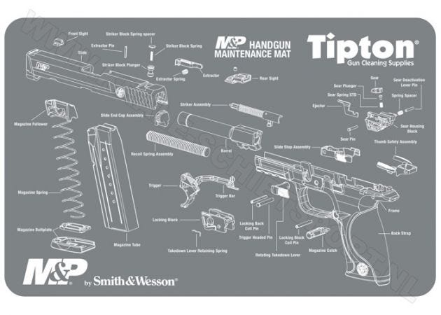 Maintenance Mat Tipton Smith & Wesson M&P