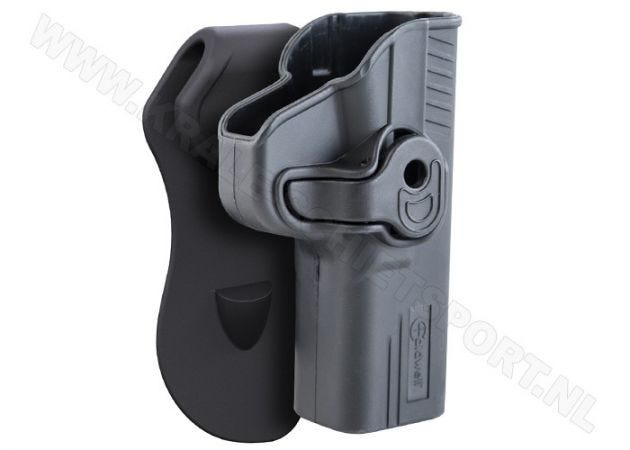 Paddle Holster Caldwell Tac Ops Glock 17/22/31 RH