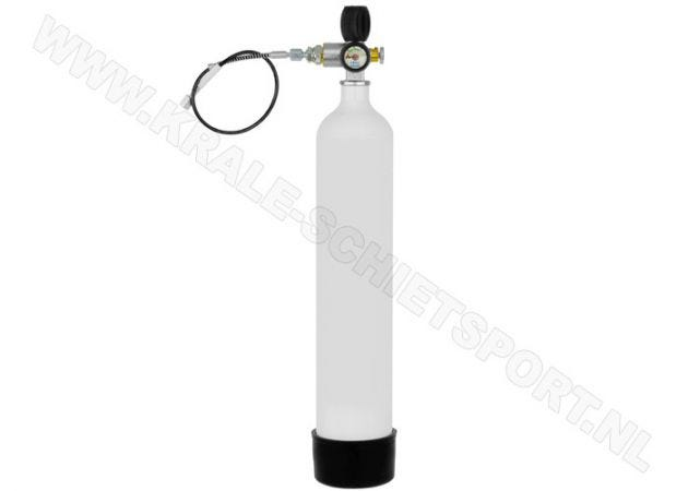 Charging cylinder Krale 3 liter 300 bar with MDE Jubiliee Valve
