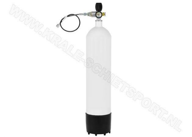Charging cylinder Krale 7 liter 300 bar with MDE Jubiliee Valve