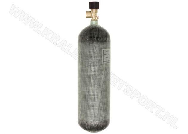 Charging cylinder Krale Carbon 6.8 liter 300 bar with standard valve