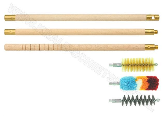Cleaning Kit MegaLine rifle 3 piece Cal 12 / 16 / 20