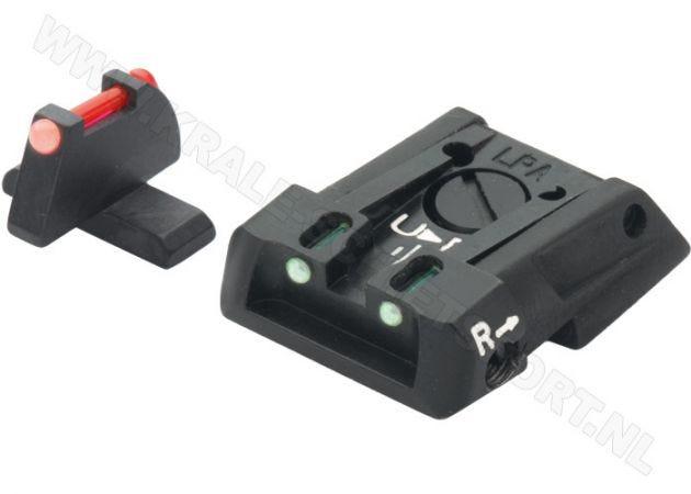 Adjustable Carry Sight Set LPA SPF Fiberglass