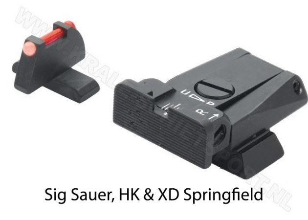 Adjustable Sight Set LPA SPR Sport