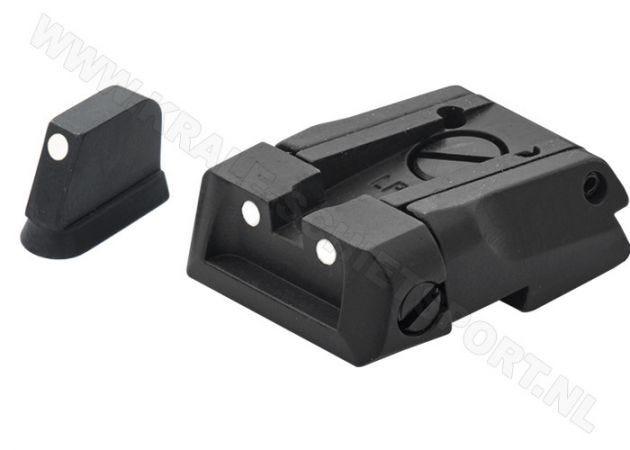 Adjustable Carry Sight Set LPA SPS 3 Dots