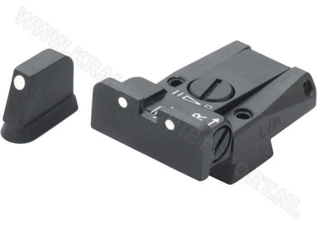 Adjustable Sight Set LPA SPR 3 Dots