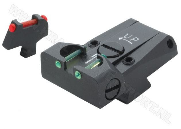 Fiber Optic Adjustable Sight Set LPA TTF