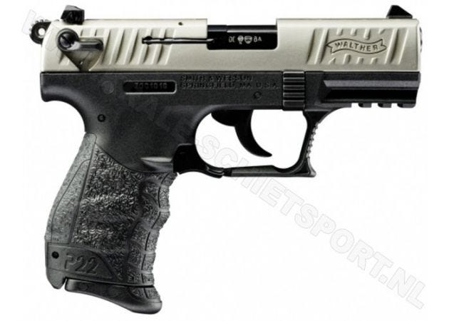 Walther P22Q Nickel