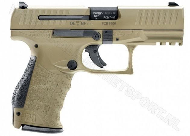 Walther PPQ M2 FDE Magpul